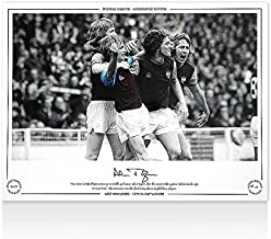 Alan Taylor Autographed Photo - 1975 FA Cup Winners - Autographed Soccer Photos