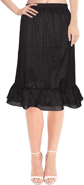 Half Slip Skirt Cotton Underskirt Half Slip Lingerie Slip for Dresses Half Petticoat Slip For Women