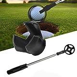 Pelota de golf telescópica, para putter, con excavación de pelota de golf, accesorio de golf para regalo de golf para hombres