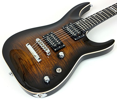 ESP - Guitarra eléctrica E-II Horizon NTFM DBSB, color marrón