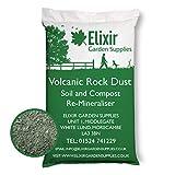 Elixir Gardens Volcanic Rock Dust | Organic Fertiliser & Remineraliser | 20kg