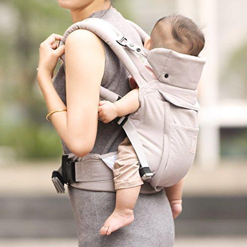 GAGAKU – Ergonomische Baumwoll Babytrage - 6