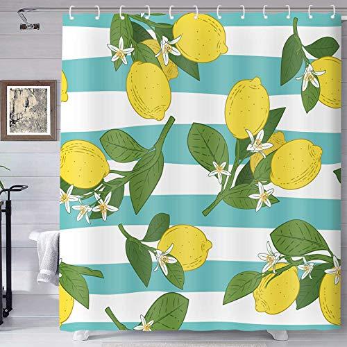 Lemon Shower Curtains A