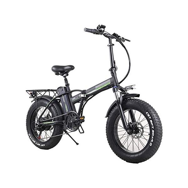 51Iqvx+WvaL. SS600  - TANCEQI Elektrofahrrad Mountainbike E-Bike Elektrisches Fahrrad Falträder Elektrofahrräder Für Erwachsene, 48V 350W 10Ah Legierung Ebike Fahrräder All Terrain Stoßfest, Für Männer Frauen