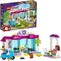 LEGO41440FriendsHeartlakeCityBäckerei, Ostergeschenk für Kinder, Spielzeugab4Jahre mit Mini Puppen Stephanie und...