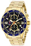 Invicta 14878 Specialty Men's Wrist Watch Stainless Steel Quartz Black Dial