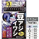 Marufuji(マルフジ) S-176 豆アジ・イワシ蛍紫 2.5号 S-176