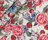 0,5m Jersey Woodland Babys - Blumen BioBunt
