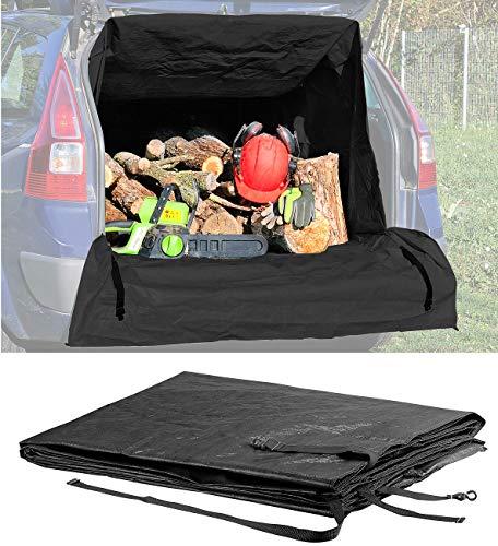 Lescars Kofferraumsack: Universeller Kofferraum-Transport-Sack für Kombis & SUVs, 1.288 Liter (Kofferraumschutz)
