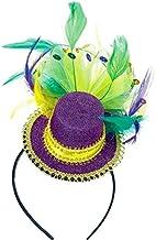 "Mardi Gras Party Headband, 11"" x 10"""