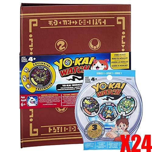 Yo-kai Watch Medallium 24 bolsitas de 3 medallas