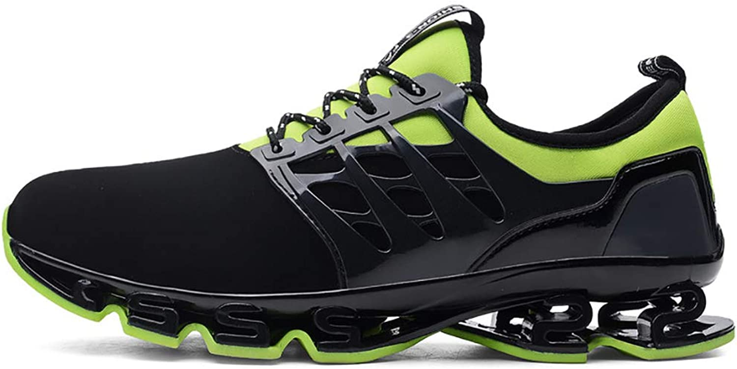 Mzq-yq Spring And Summer Running shoes Sneakers Elastic shoes Cushioning Couple Mesh shoes