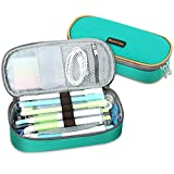 Homecube Pencil Case Big Capacity Pencil Bag Makeup Pen Pouch Durable Students Stationery with...