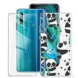 ZXLZKQ Custodia Cover + Pellicola Protettiva Vetro Temperato per Huawei Honor 20e (6.21...