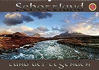Schottland - Land der Legenden (Wandkalender 2022 DIN A2 quer): Schottland, mystisch, einsam, ein Land voller Legenden fotografiert im Panoramaformat (Monatskalender, 14 Seiten )