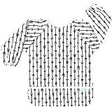 Wegreeco Baby Long Sleeve Bib with Pocket, Toddler Leak-Free Bibs with Sleeves (6-24 Months),...