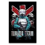 LANMPU Trauma Team - Póster de platino (30 x 45 cm)