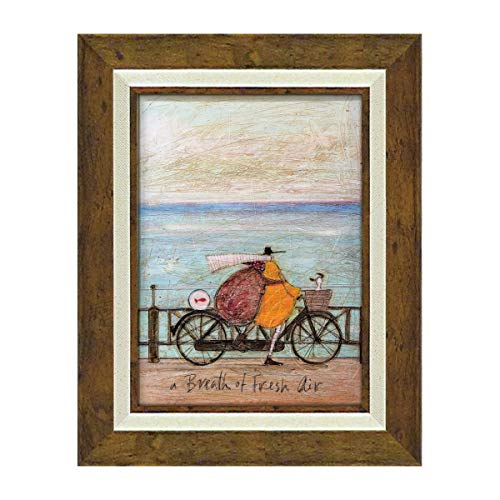 アートパネル アートフレーム 壁掛け サムトフト おしゃれ 絵画 絵 アートボード インテリア イギリス作家 フレッシュエアーの浜辺 アートボード 新築祝い 玄関 モダン ほっこり 癒し