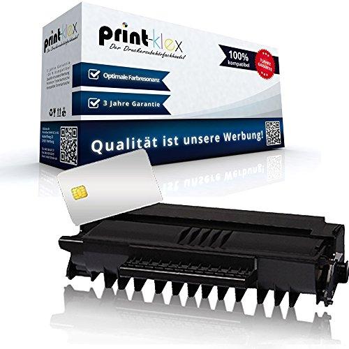 Print-Klex Tonerkartusche kompatibel für Nashuatec 413196 F110 F111 SP1000 SP1000S SP1000 S SP1000SF SP1000 SF F-110 F-111 SP-1000 S SP-1000S SP-1000 SF SP-1000SF Black Schwarz Kartusche
