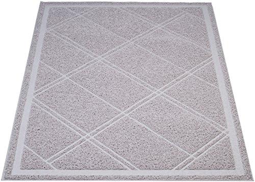 Amazon Basics - Katzenstreumatte, 61x88,9 cm, Grau
