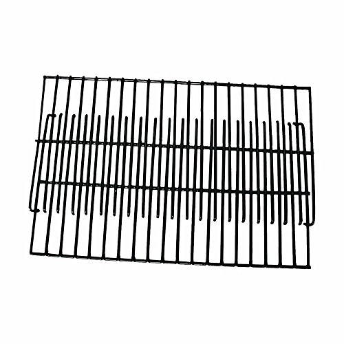 Brinkmann Set of Two Universal BBQ Grill Porcelain 19 inch Cooking Grates for Weber Gas Grill Models