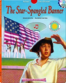 The Star Spangled Banner - a Smithsonian American Favorites Book (with sing-along audiobook CD and music sheet) (Casebound, Hide-N-Seek Book W/ CD) by Barbie H. Schwaeber (2006-10-01)