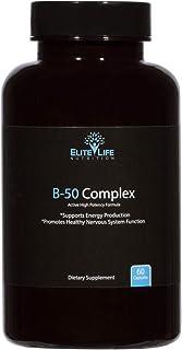 Super Active B Complex - Pure B-50 Complex Vitamins - Natural, Methylated, Bioavailable, Vegan Vitamin Supplement For Men ...