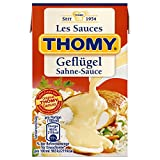 THOMY Les Sauces Geflügel Sahne Sauce, 250 ml Combiblock, 2,5 Portionen