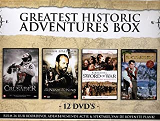 Greatest Historic Adventures (4 Mini-Series) - 12-DVD Box Set ( Arn: The Knight Templar (The Crusader) / In the Name of the King: A Dungeon Siege Ta [ NON-USA FORMAT, PAL, Reg.2 Import - Netherlands ]