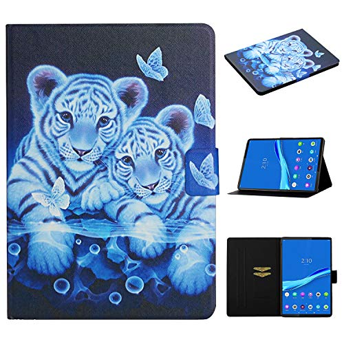 Acelive for Huawei T 10s Case, Slim Shockproof Case Cover for Huawei Matepad T10 T10s Tablet 2020 with Stand Function (tiger)