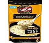 Idahoan Steakhouse Creamy Potato Soup Mix (Pack of 3) 7.1 oz Bags