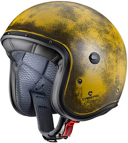 Caberg Jet Freeride Yellow Brushed XL