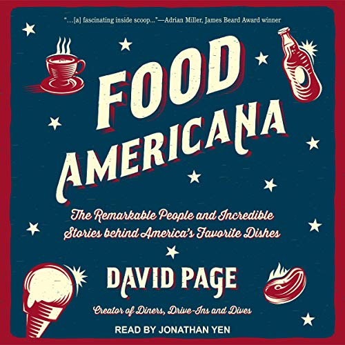 Food Americana Audiobook By David Page cover art