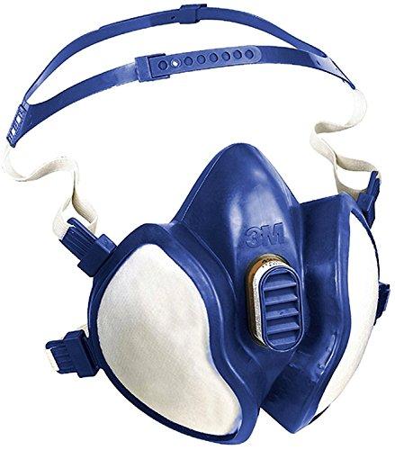 3M Atemschutz-Halbmaske 4255wartungsfrei für Staub und organische Dämpfe FFA2P3R