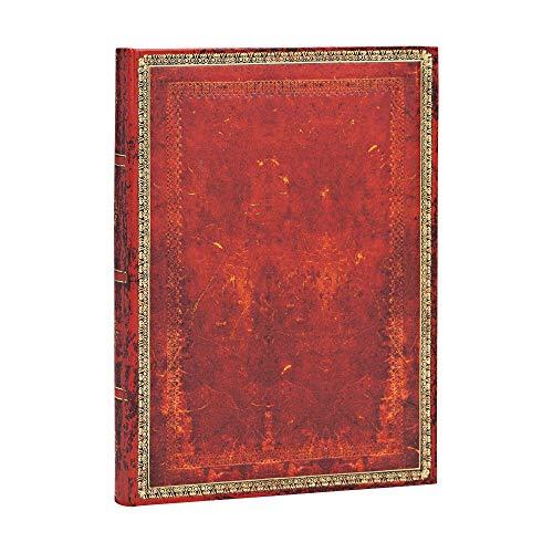 Paperblanks Diari a Copertina Rigida Rosso Veneziano | Righe | Midi (130 × 180 mm)