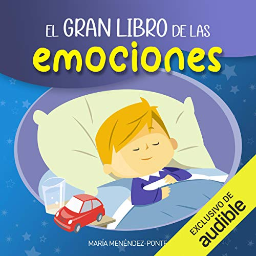 Diseño de la portada del título El Gran Libro de las Emociones (Narración en Castellano)