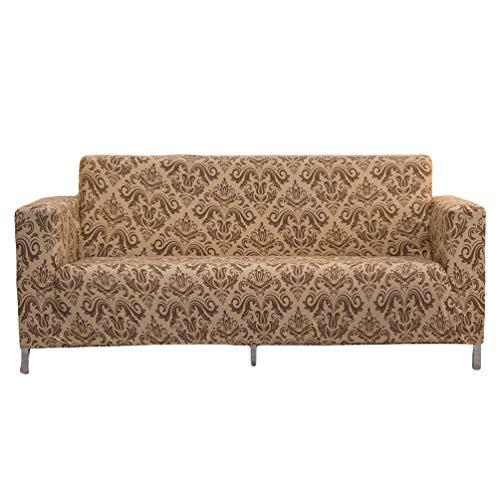 GladiolusA Stretch Sofabezug Sofahusse Couchbezug Sesselbezug Elastischer Antirutsch Couchbezüge Stil5 2 Sitzer(145-185cm)