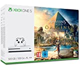Microsoft Xbox One S 500GB Assassin's Creed Origins Bundle 500GB Wi-Fi Bianco