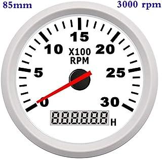 36V ENM Compteur horaire jauge Temps Universel pour Bateau de Voiture Tondeuse /à Gazon BAAQII 1 Nouveau DC 12V