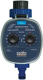 Aqua Control C4099O Programador de Riego para Jardín, para