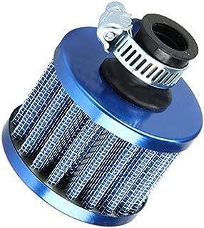 Ogquaton 12mm 56mm Aceite Mini Respiradero Filtro de Aire fr/ío Combustible Cig/üe/ñal Motor Apto Coche Plata 50mm