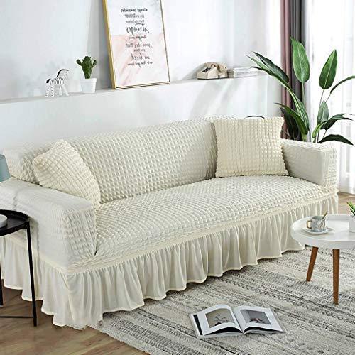 DFJU Elastische SofabezugDicke weiche, rutschfeste, haltbare Sofabezug für das Wohnzimmer 3Sitz-Sofabezug-A-Stuhl 70-110CM (27,5-43,5 Zoll)
