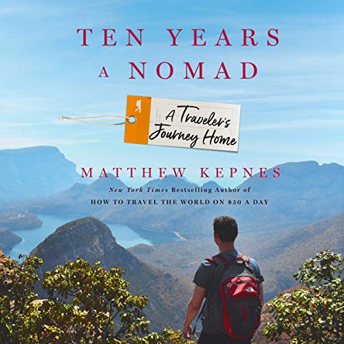Ten Years a Nomad audiobook cover art