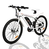 ECOTRIC 26' Electric City Bicycle Ebike with 350W Brushless Rear Motor, 36V/9AH Removable Lithium...
