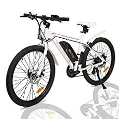 Now you're looking at an electric bike that on great cost performance. This electric bike is an specially design for your daily travel and relaxation. We pay great attention to every detail of each component, ergonomic handlebar, adjustable seat and ...