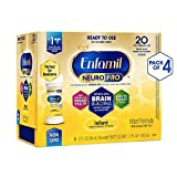 Enfamil NeuroPro Ready to Feed Baby Formula Milk, 2 fluid ounce Nursette (24 count) - MFGM, Omega 3 DHA,...