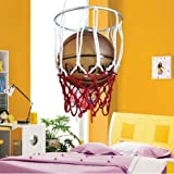 WINZSC Accesorios de iluminación de la habitación Infantil de Baloncesto Genuino minoxidil Hierro llevó la araña de la Sala de Estar Minimalista Moderna ET20 lo11