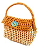Medonna shoppe Women's Plastic Wire Multi Purpose Handmade Washable Handbag with Magnet Lock (Multicolour)