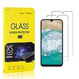Bear Village® Displayschutzfolie für Galaxy A50, 9H Hart Schutzfilm aus Gehärtetem Glas, Ultra klar Displayschutz Schutzfolie für Samsung Galaxy A50, 2 Stück -