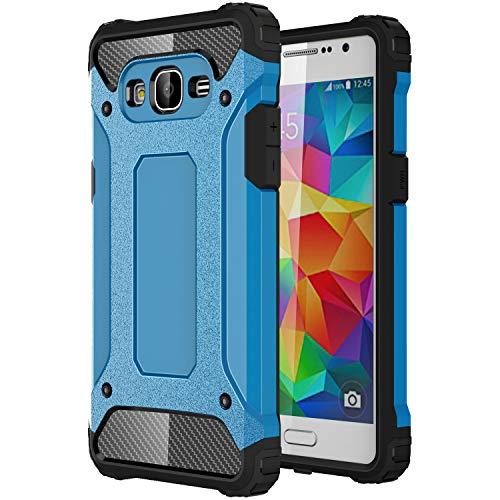 J&H - Carcasa protectora para Samsung Galaxy Grand Prime (2016) Armour, Galaxy Grand Prime (2016), carcasa rígida resistente a los golpes, híbrida de doble capa a prueba de golpes para Samsung Galaxy Grand Prime (2016)